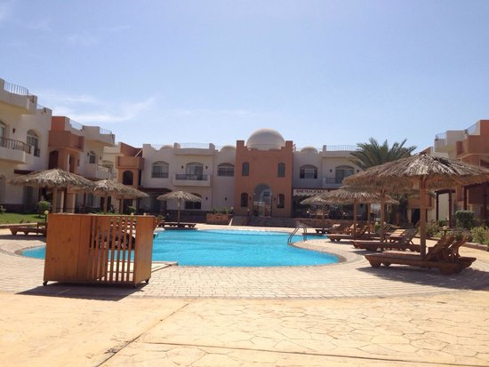 Sheikh Ali Dahab Resort: Another beautiful day at Sheikh Ali