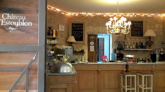 Bistrot Mogador : Dining-room bar