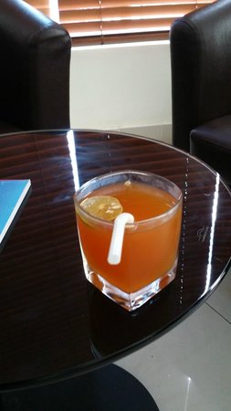 Hotel Octave: Welcome Drinks~~very nice drink