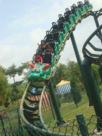 Legoland Malaysia: Park was pretty empty when visited