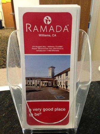 Ramada Williams: Brochure