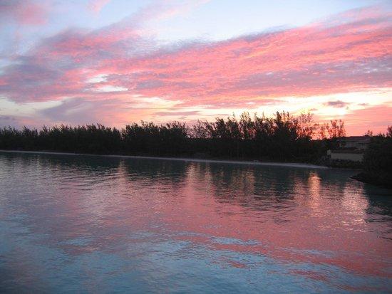 Bahama Villa: tramonto