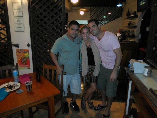 Hotel Poseidon y Restaurante: Making Friends With Hotel Poseidon! Jan 2, 2014