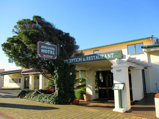 Augusta Hotel Front Bar