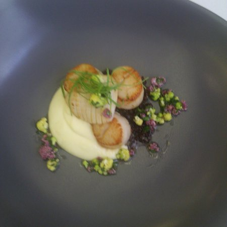 Arras: scallops and cauliflowers