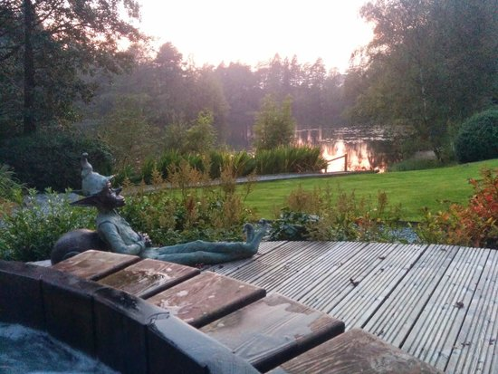 Gilpin Hotel & Lake House : Spectacular view from the Hot Tub