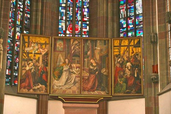 St. Mary's Chapel: Triptique