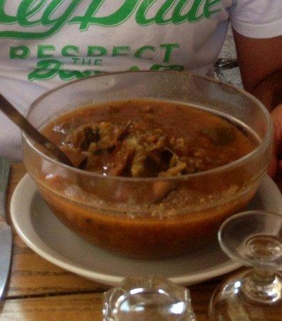 Cantina Doria: Soupe Corse