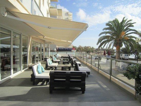 Hotel Som Fona : Loungebereich