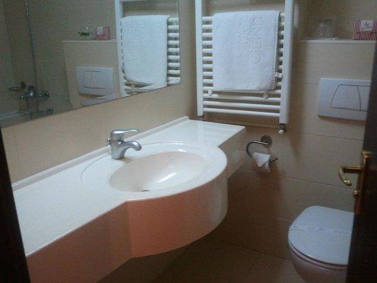 Hotel Central: Bagno
