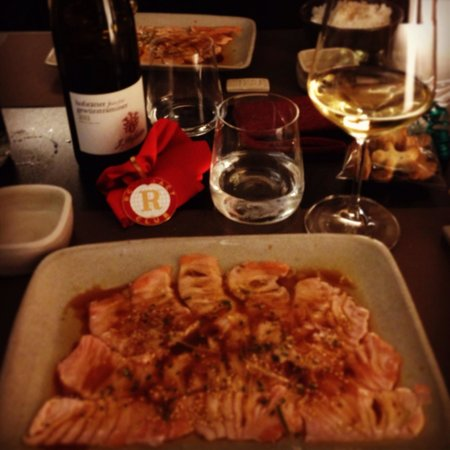 shizen japanese & oriental cuisine: Carpaccio di salmone