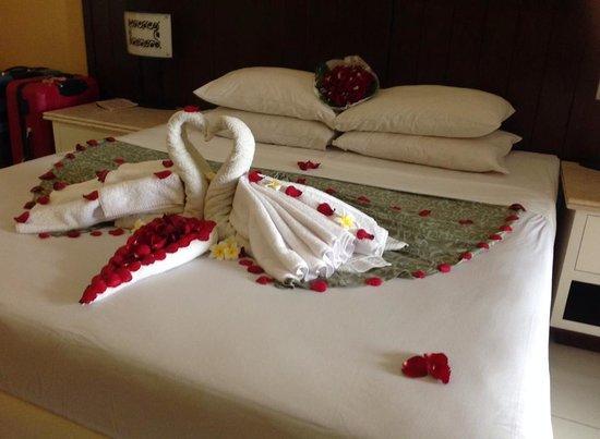 Maharani Beach Hotel: birthday room treat