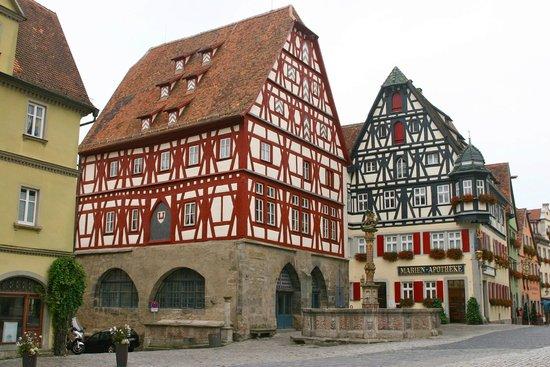 Altstadt: maisons à colombages