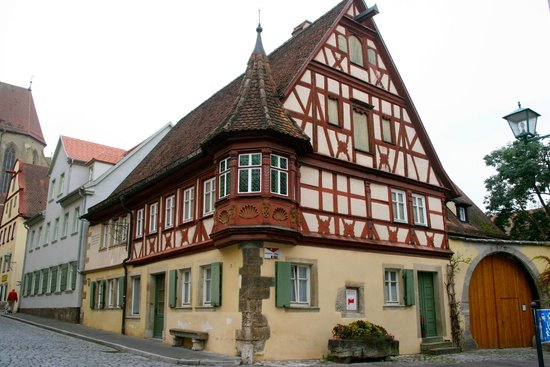 Altstadt: maison à colombages