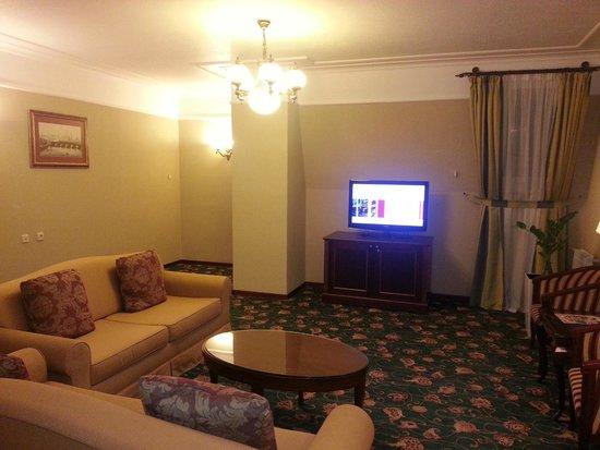 Moscow Marriott Tverskaya Hotel : Junior Suite