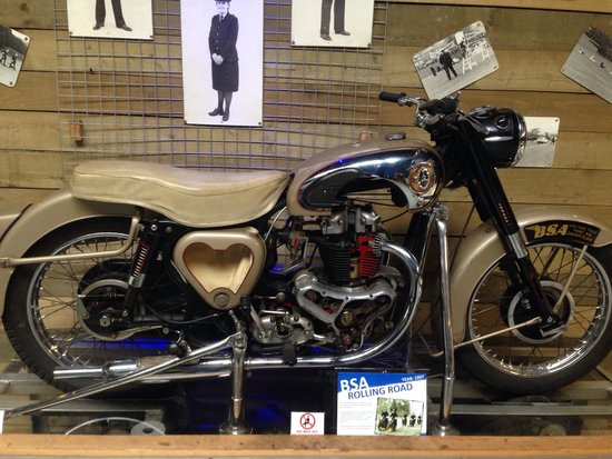 National Emergency Services Museum : 1950 BSA