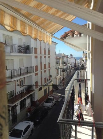 Casa Manuel: from balcony looking down town