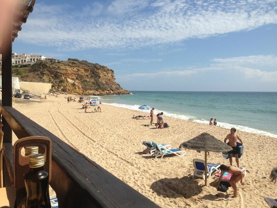 Burgau Beach Bar: View from the outside terrace