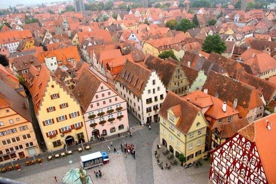 Rothenburg Town Hall (Rathaus): Du haut de la Tour