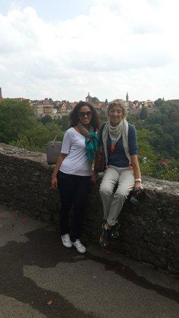 Vive Alemania Tours: Alejandra y Patricia en Rothemburg