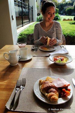 Avondrood Guest House : Breakfast