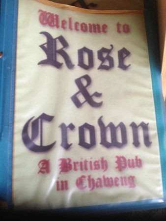 The Rose and Crown : Rose