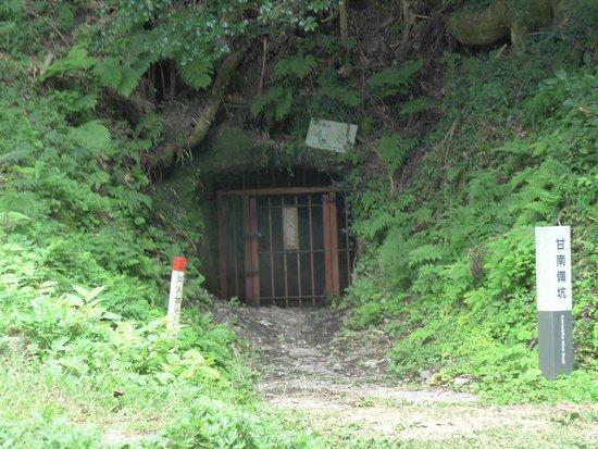 Iwami-Ginzan Silver Mine: 龍源寺間歩入口付近の未公開坑道