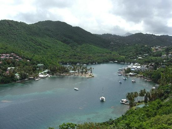 The Inn On The Bay: View of Marigot Bay