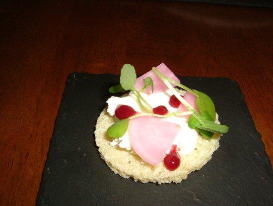 The Old Stamp House Restaurant: Gluten Free Pre Starter