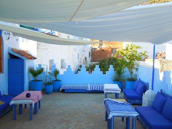 Dar Zambra: nice terrace