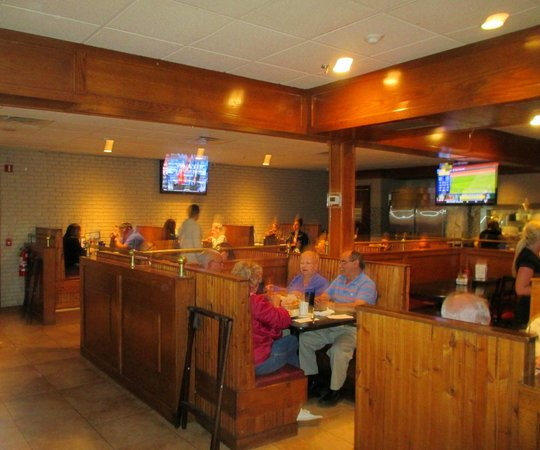 Busters Sports Bar Grill Dining Room