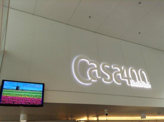 Hotel Casa 400: atrio hotel