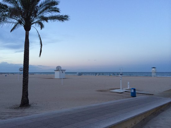 Biarritz Hotel: Playa de GANDIA