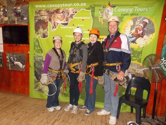 Karkloof Canopy Tour : Safe on mother Earth
