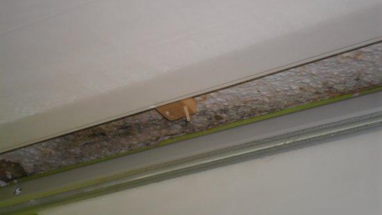 Hotel De La Plage: Ceiling in the bathroom room 3