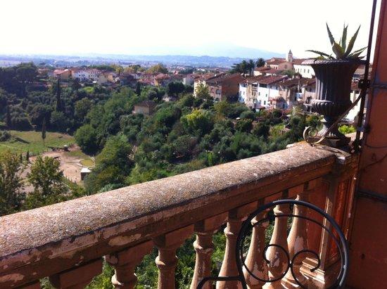 Albergo Quattro Gigli : View from my balcony