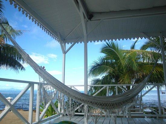 Opoa Beach Hotel : Relaxing