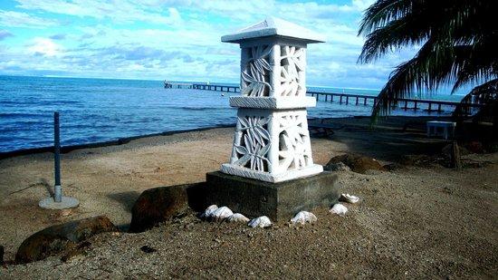 Opoa Beach Hotel : Lighting