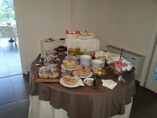 Relais Dell'Olmo : colazione a 5 stelle