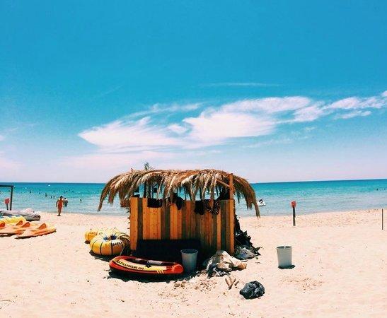 Ramo Beach: Tektekçi