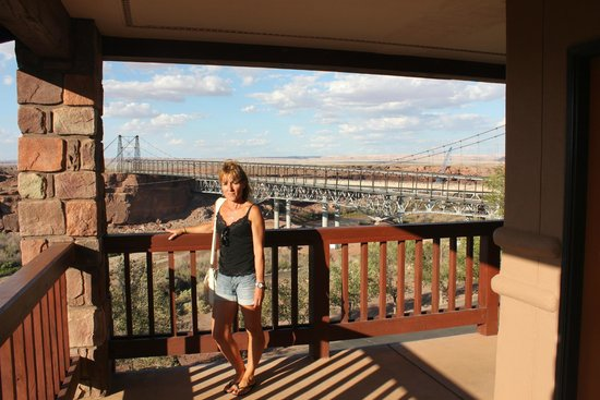 Cameron Trading Post Grand Canyon Hotel Ma Cherie Devant Le