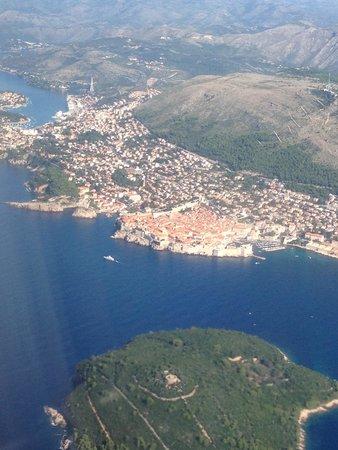 Hotel Lapad: Flying into Dubrovnik