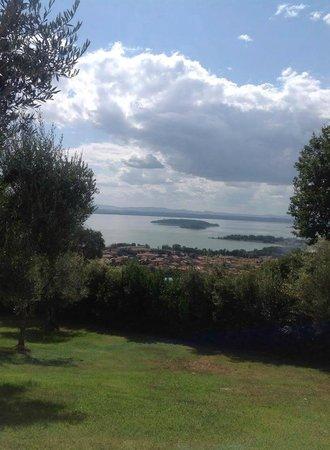 Villa San Crispolto: WOW what a view