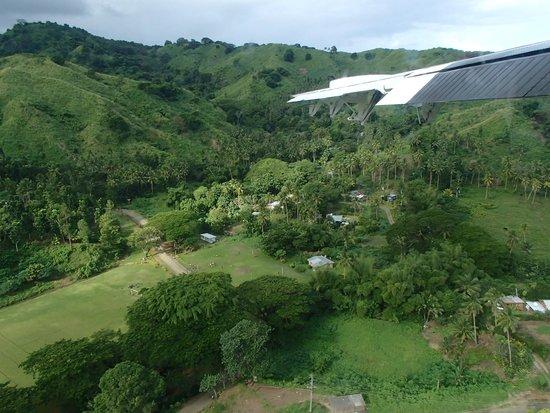 Jean-Michel Cousteau Resort : Flying into Savusavu