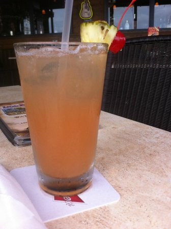 Doc Ford's Rum Bar & Grille Ft. Myers Beach : Delicious drink (that I can't remember the name of)