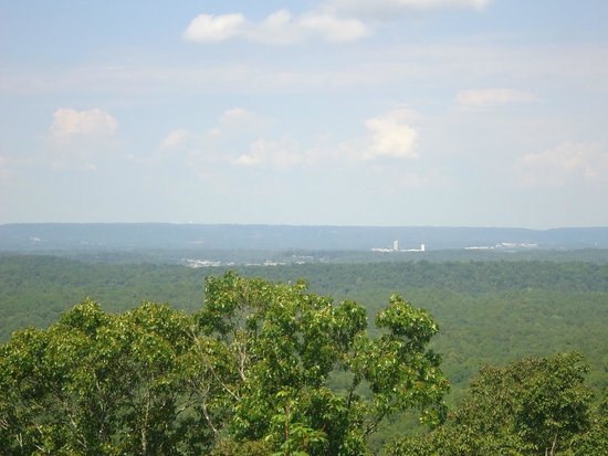 Oak Mountain State Park: View from Ada Overlook