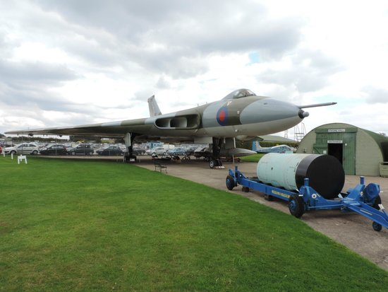 Newark Air Museum : The Vulcan