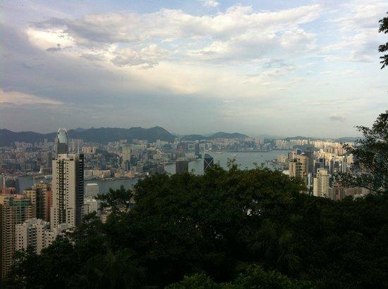 Victoria Peak (The Peak): day view of Hong Kong from The Peak
