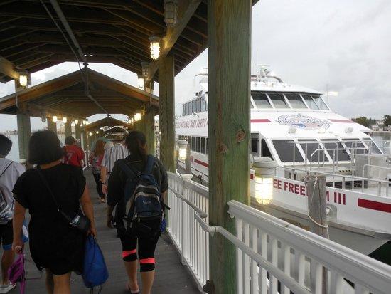Fort Jefferson: Boarding the Yankee Freedom 3 in Key West