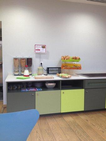 Ibis Styles Calais Centre : Het Ontbijtbuffet
